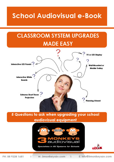 5 Questions To Ask When Upgrading Your School AV Equipment