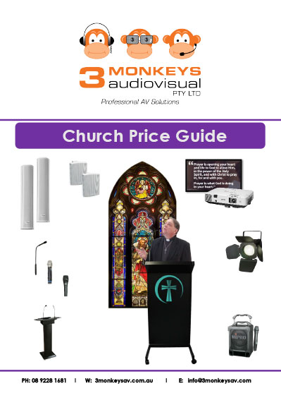 Church Audio Visual Pricing Guide