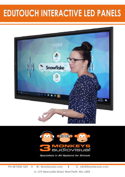 EduTouch Interactive LED Panels Brochure