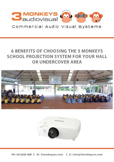 6 Benefits of 3 Monkeys AV School Projection System