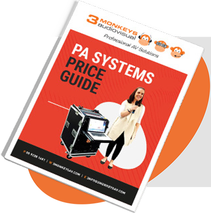 PA SYSTEMS PRICE GUIDE