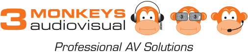 3 Monkeys AV Logo