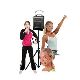 Portable PA Systems for Sporting & Social Clubs