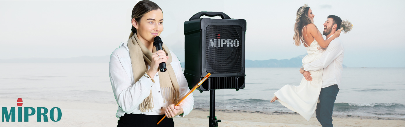 A guide to choosing a Portable PA system for Celebrants