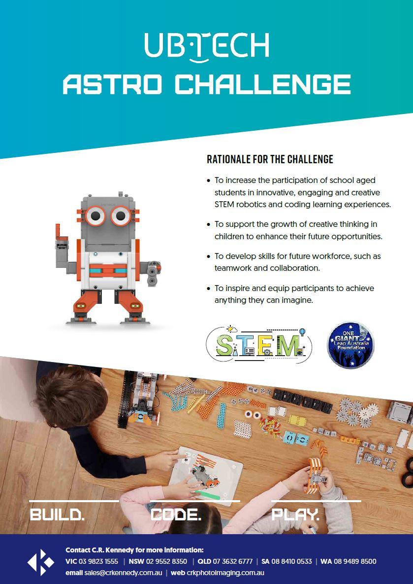 UBTECH Astrobot Innovative Challenge
