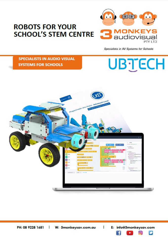 UBTech Educational Robot Price Guide