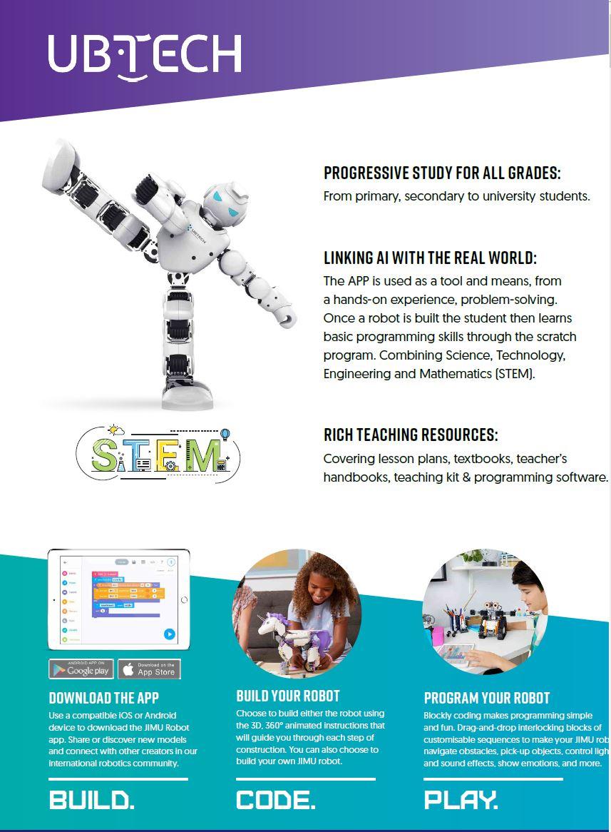 UBTECH Robot Catalogue
