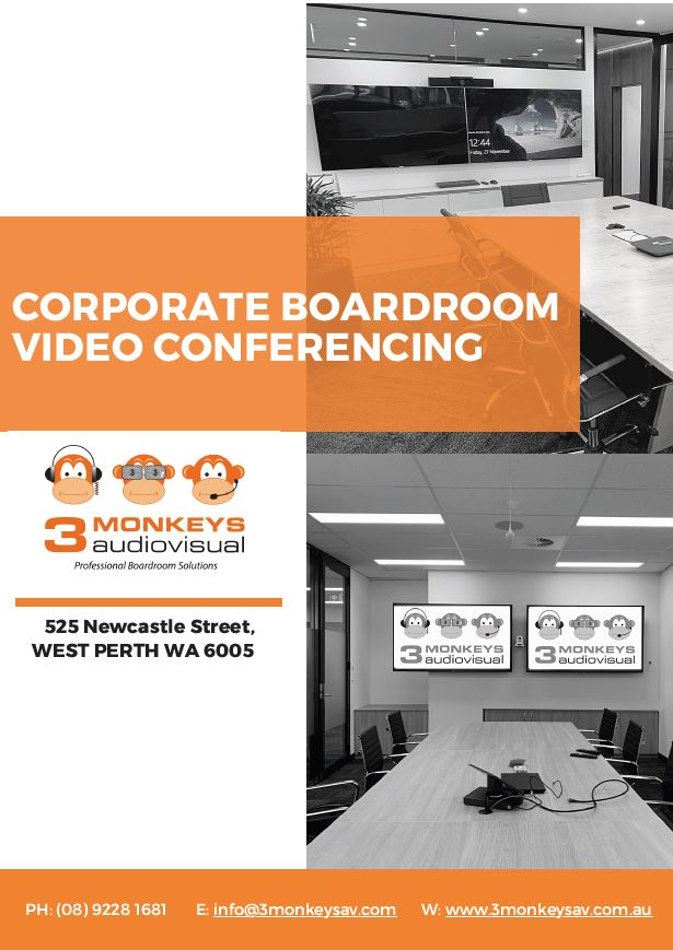 Corporate Boardroom Video Conferencing Packages